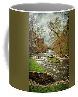 Old Mill On The River Coffee Mug