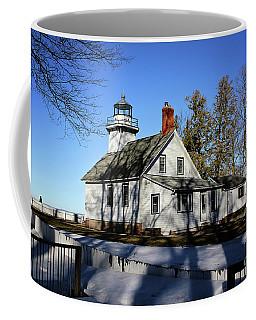 Old Mission Lighthouse Coffee Mug