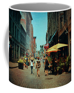 Old Montreal - Quebec Coffee Mug