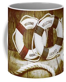 Old Nautical Art Coffee Mug