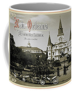 Old New Orleans Louisiana - Founded 1718 Coffee Mug