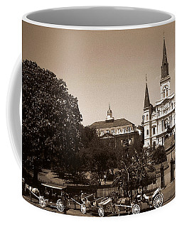 Old New Orleans Photo - Saint Louis Cathedral Coffee Mug