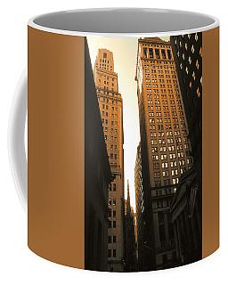 Old New York Wall Street Coffee Mug
