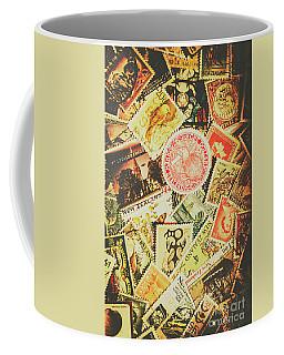 Old New Zealand Stamps Coffee Mug