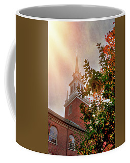 Coffee Mug featuring the photograph Old North Church - Boston by Joann Vitali