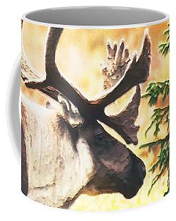 Old Northern Deer. Coffee Mug