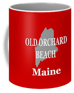 Coffee Mug featuring the photograph Old Orchard Beach Maine State City And Town Pride  by Keith Webber Jr