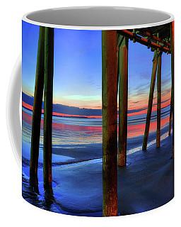 Old Orchard Beach Pier -maine Coastal Art Coffee Mug by Joann Vitali