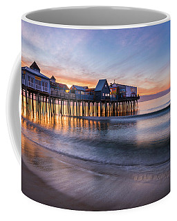 Coffee Mug featuring the photograph Old Orchard Beach by Expressive Landscapes Fine Art Photography by Thom
