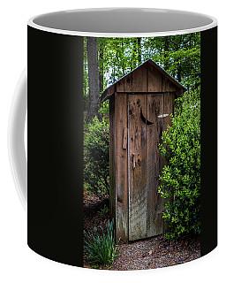 Old Outhouse Coffee Mug
