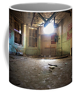 Old Paint Shop Coffee Mug by Randall Cogle