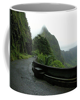Coffee Mug featuring the photograph Old Pali Road, Oahu, Hawaii by Mark Czerniec
