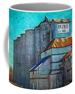 Old Paxico Kansas Grain Elevator Coffee Mug
