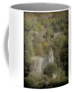 Coffee Mug featuring the photograph Old Perithia, Corfu, Greece - Saint Spiridon by Mark Forte