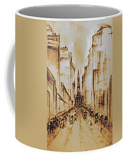 Old Philadelphia City Hall 1920 Coffee Mug