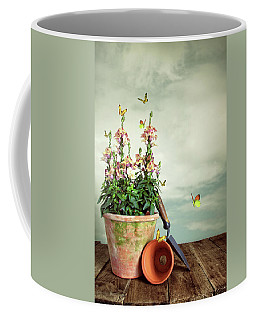 Old Plant Pot Coffee Mug