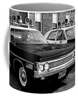 Old Police Car Coffee Mug by Paul Seymour