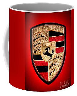 Old Porsche Badge Coffee Mug