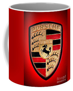 Old Porsche Badge Coffee Mug