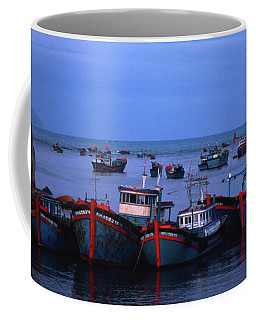 Old Port Of Nha Trang In Vietnam Coffee Mug