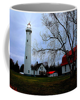 Old Presque Isle Lighthouse Coffee Mug