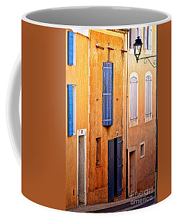 Coffee Mug featuring the photograph Old Provence Village Street by Olivier Le Queinec