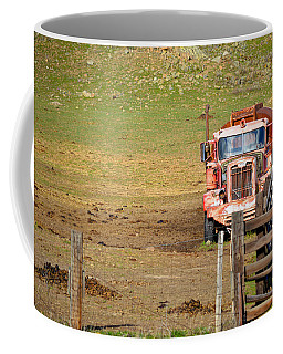 Old Pump Truck Coffee Mug