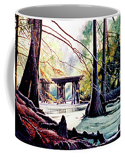 Old Railroad Bridge Coffee Mug