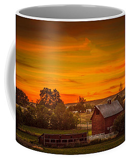 Old Red Barn Coffee Mug