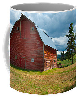 Old Red Big Sky Barn  Coffee Mug