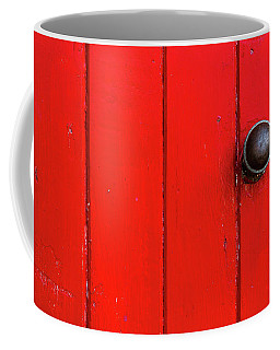 Old Red Door  Coffee Mug