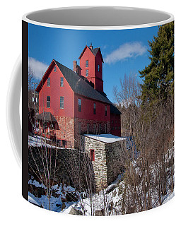 Coffee Mug featuring the photograph Old Red Mill - Jericho, Vt. by Joann Vitali