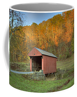Old Red Or Walkersville Covered Bridge Coffee Mug