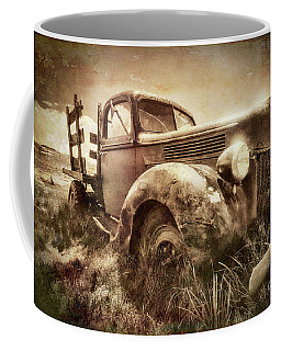 Coffee Mug featuring the photograph Old Relic by Sharon Seaward