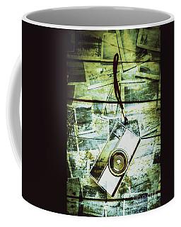 Old Retro Film Camera In Creative Composition Coffee Mug