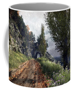 Old Road By The Sea Coffee Mug