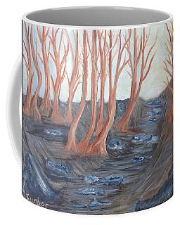 Old Road Through The Trees Coffee Mug