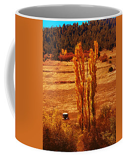 Old Rusty And Penasco Lombardies Coffee Mug by Anastasia Savage Ealy