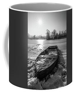 Old Rusty Boat Coffee Mug