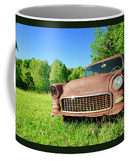 Old Rusty Car Coffee Mug