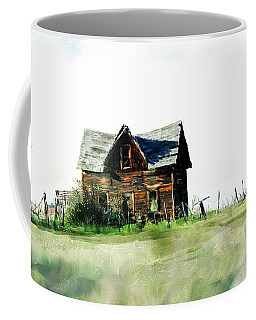 Old Sagging House Coffee Mug
