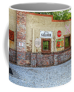 Old Saloon Wall Coffee Mug