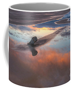 Coffee Mug featuring the photograph Old Saltair Reflection by Spencer Baugh