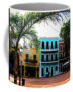 Coffee Mug featuring the photograph Old San Juan Pr by Michelle Dallocchio