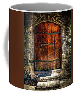 Old Savannah Warehouse Door Coffee Mug