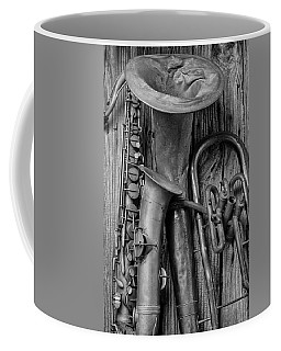 Old Sax And Tuba Coffee Mug