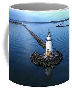 Old Saybrook Outer Lighthouse Coffee Mug