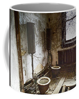 Old School House Johnny House Coffee Mug by Melissa Messick