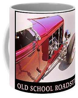 Old School Roadster Title Coffee Mug
