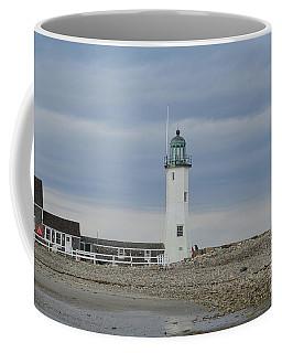 Old Scituate Light In Southeastern Massachusetts Coffee Mug by DejaVu Designs